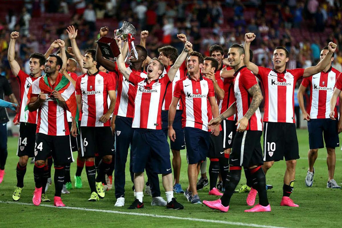Athletic de Bilbao, Supercampeón de España (Foto: EFE)