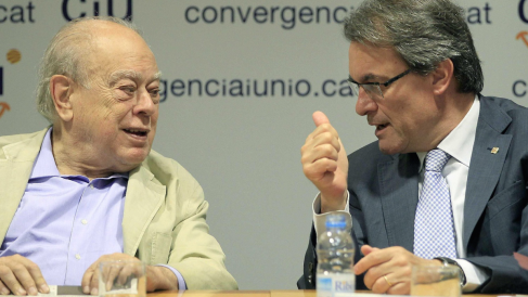 Jordi Pujol y Artur Mas. (Foto: EFE)