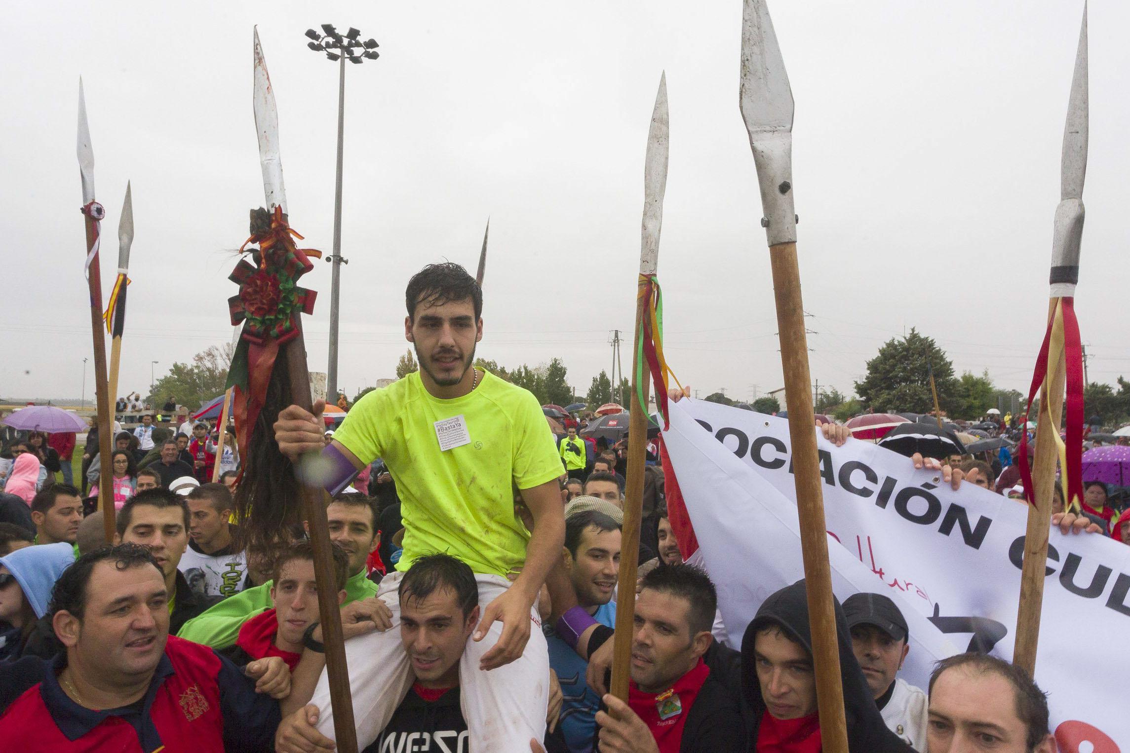 El ganador del torneo del Toro de la Vega 2015.