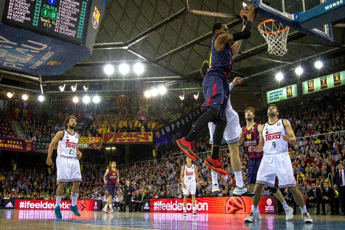 La pasada final de la Liga ACB no llegó a reunir a un millón de espectadores en su último partido. (Getty)