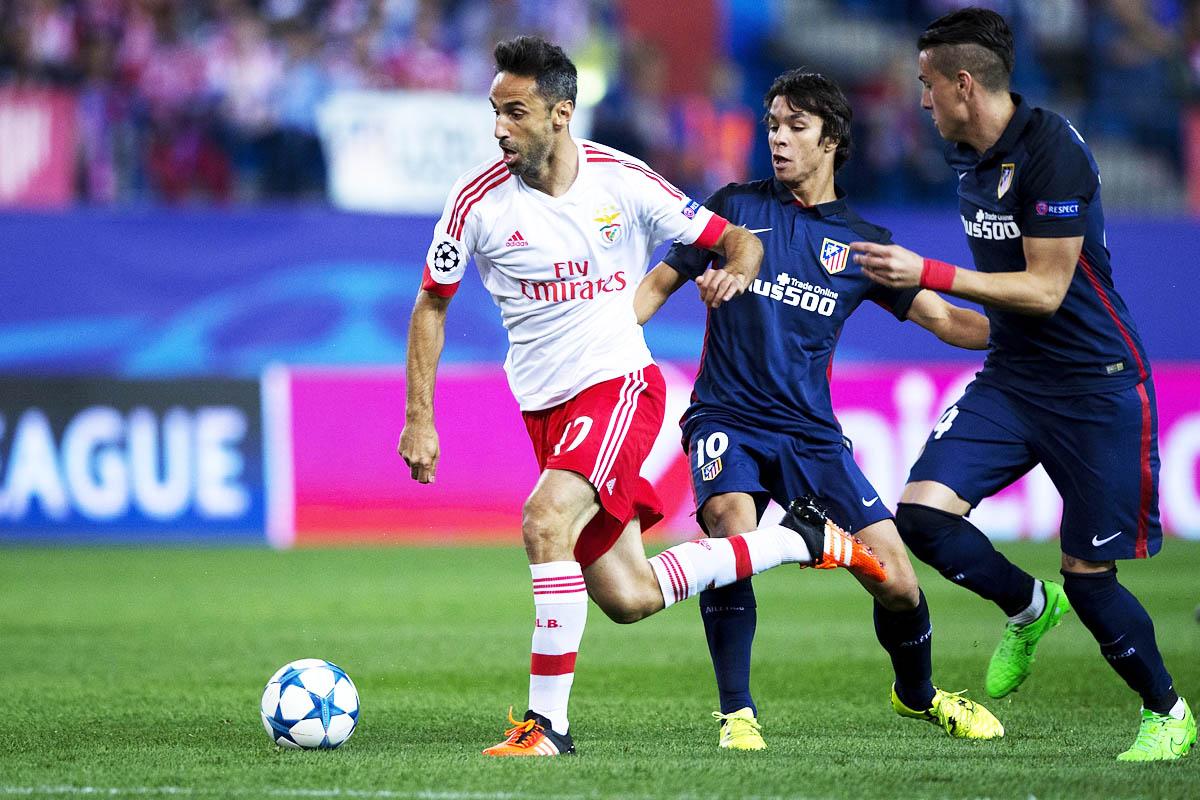 Al Atlético, de azul en su casa, se le escapó el Benfica (Foto: Getty)