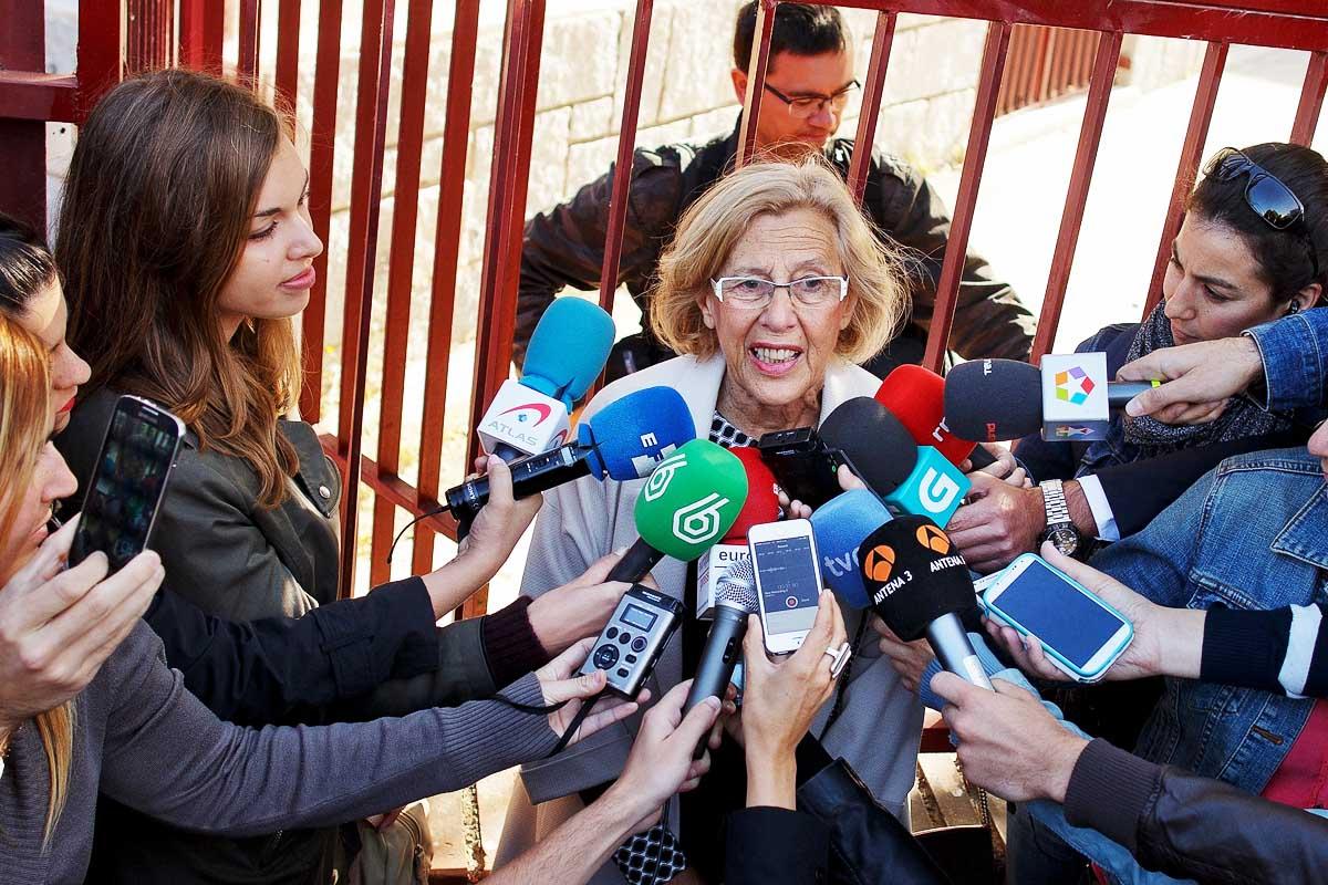 Manuela Carmena, alcaldesa de Madrid (Foto: Getty)