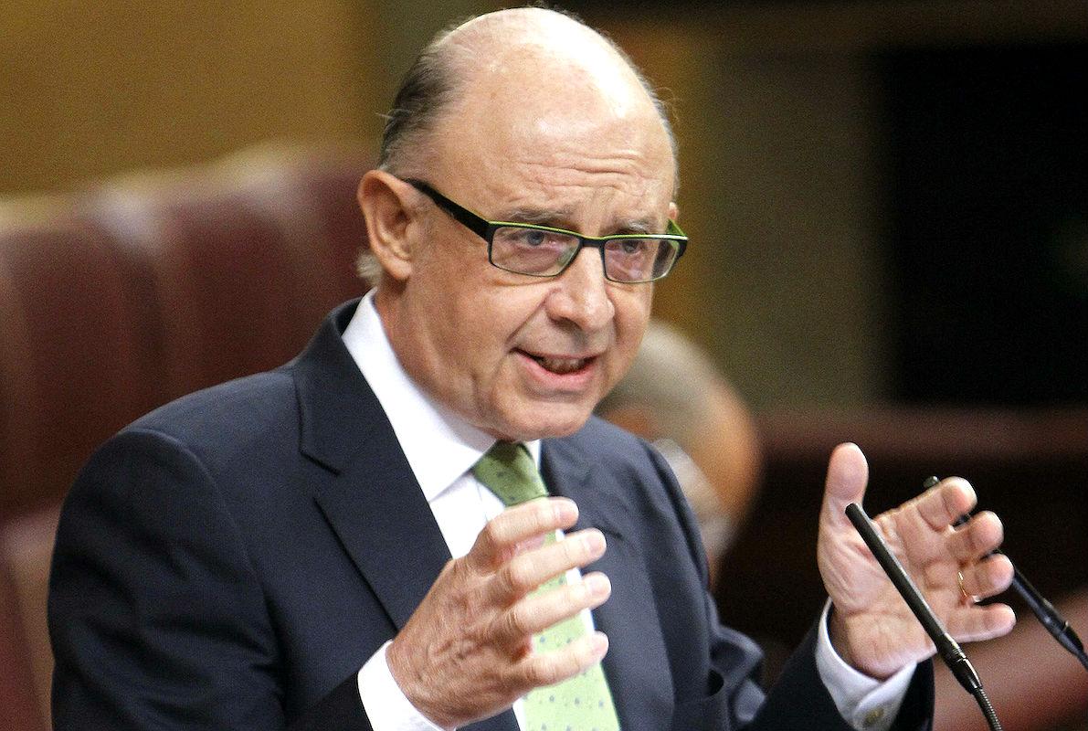 El ministro de Hacienda recuerda a Mas que Cataluña sobrevive gracias al Estado. (Foto: GETTY)
