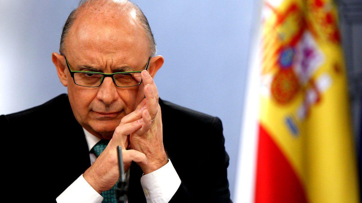 El ministro de Hacienda, Cristóbal Montoro. (Foto: GETTY)