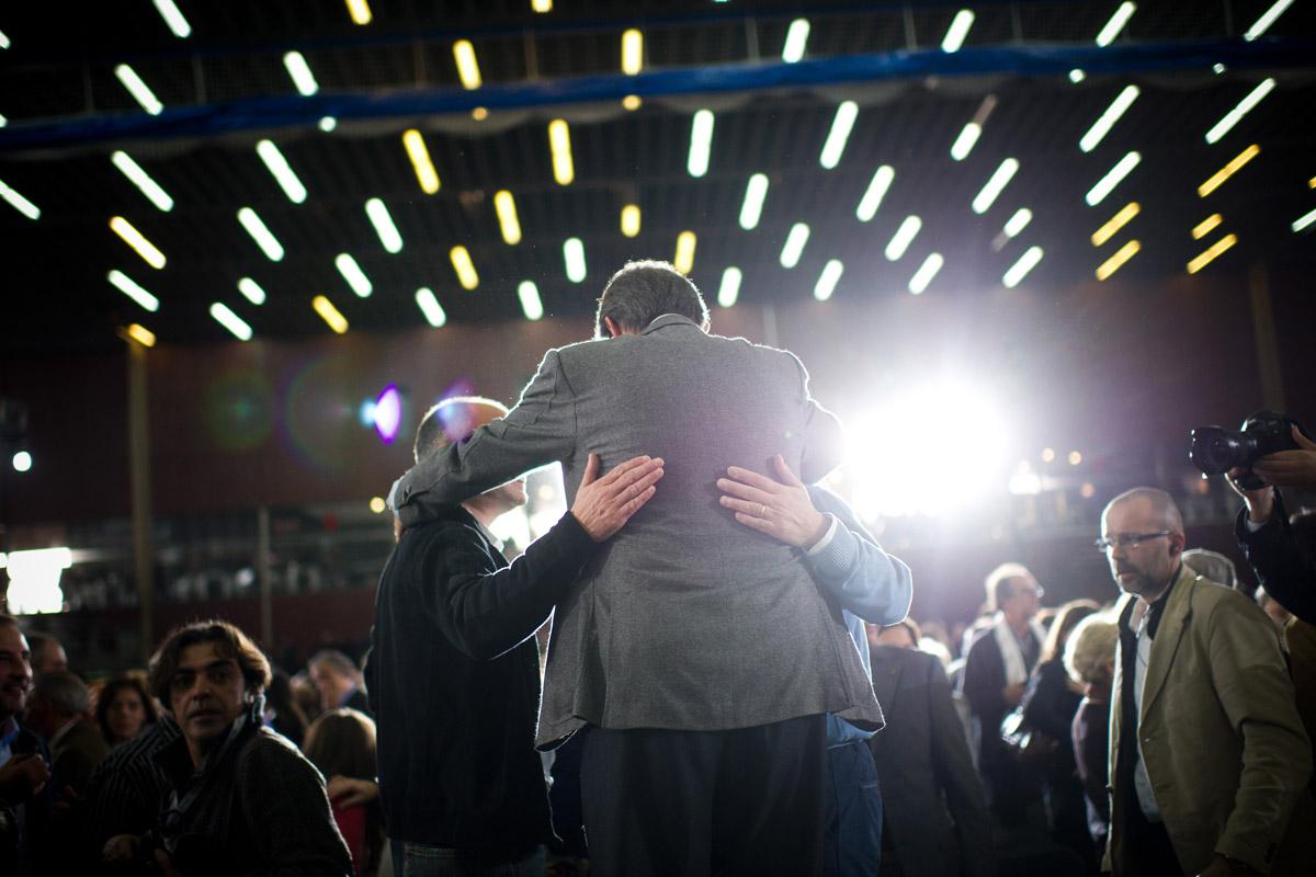 Artur Mas en un acto institucional (Foto: Getty)