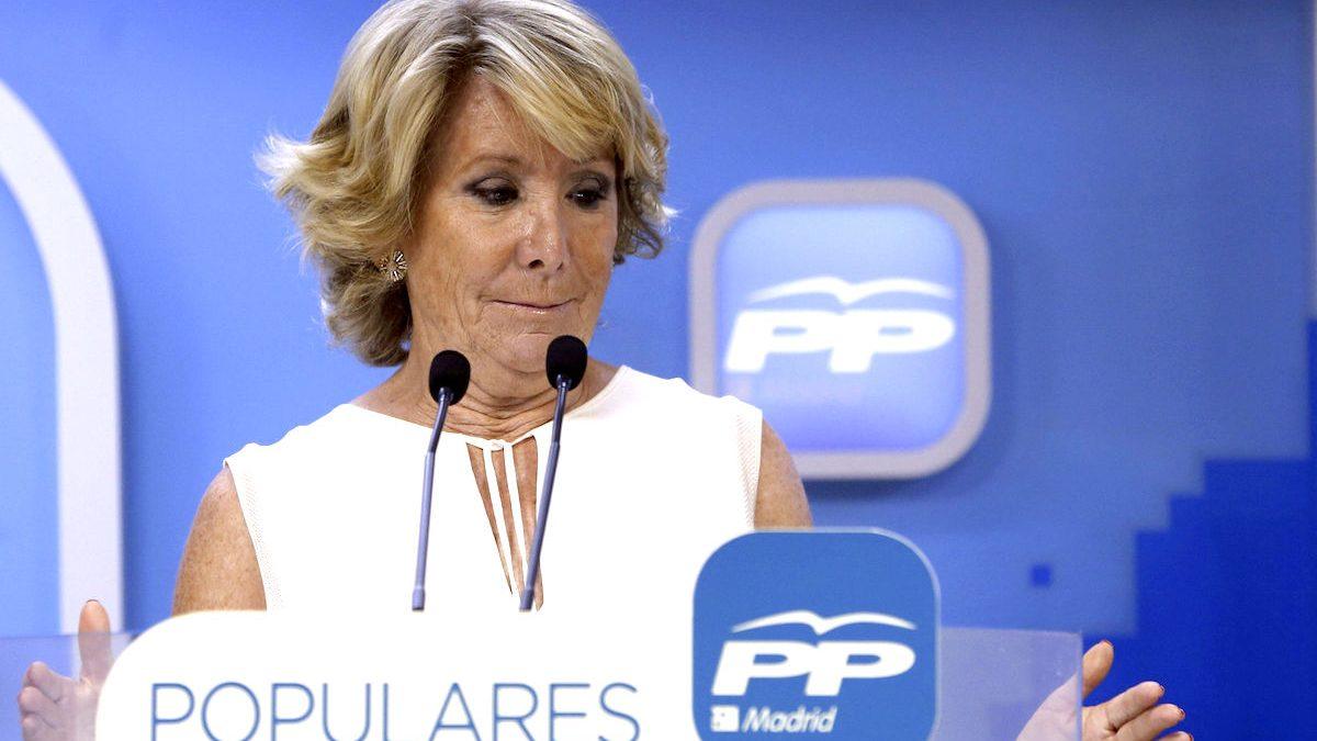 Esperanza Aguirre en una reciente imagen Foto: Efe).