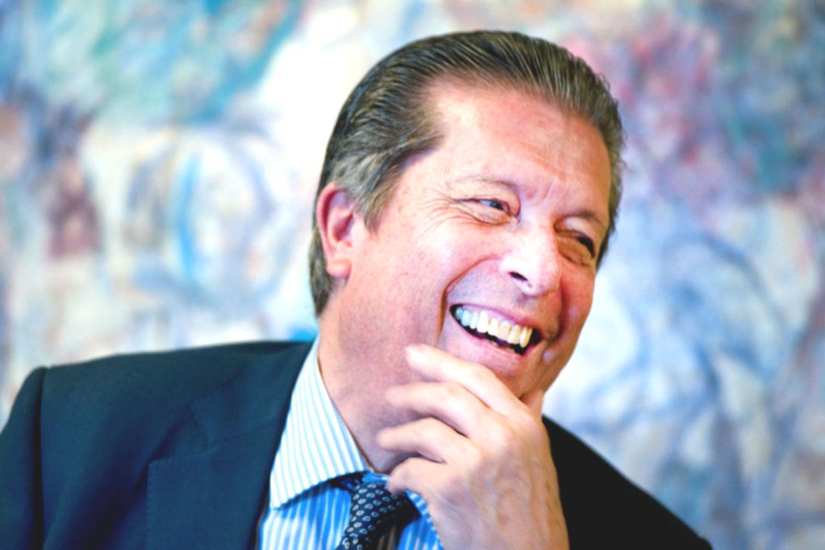 Federico Mayor Zaragoza durante una entrevista. (Foto: Fundación Cultura de Paz)
