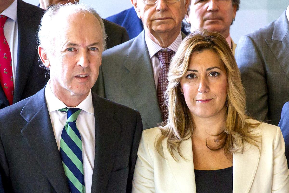 Felipe Benjumea de Abengoa y Susana Díaz