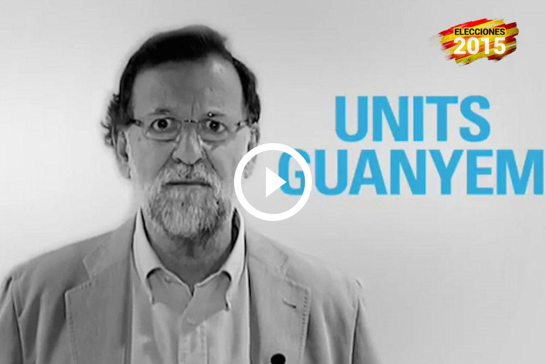 Mariano Rajoy invita a los catalanes a votar usando el catalán