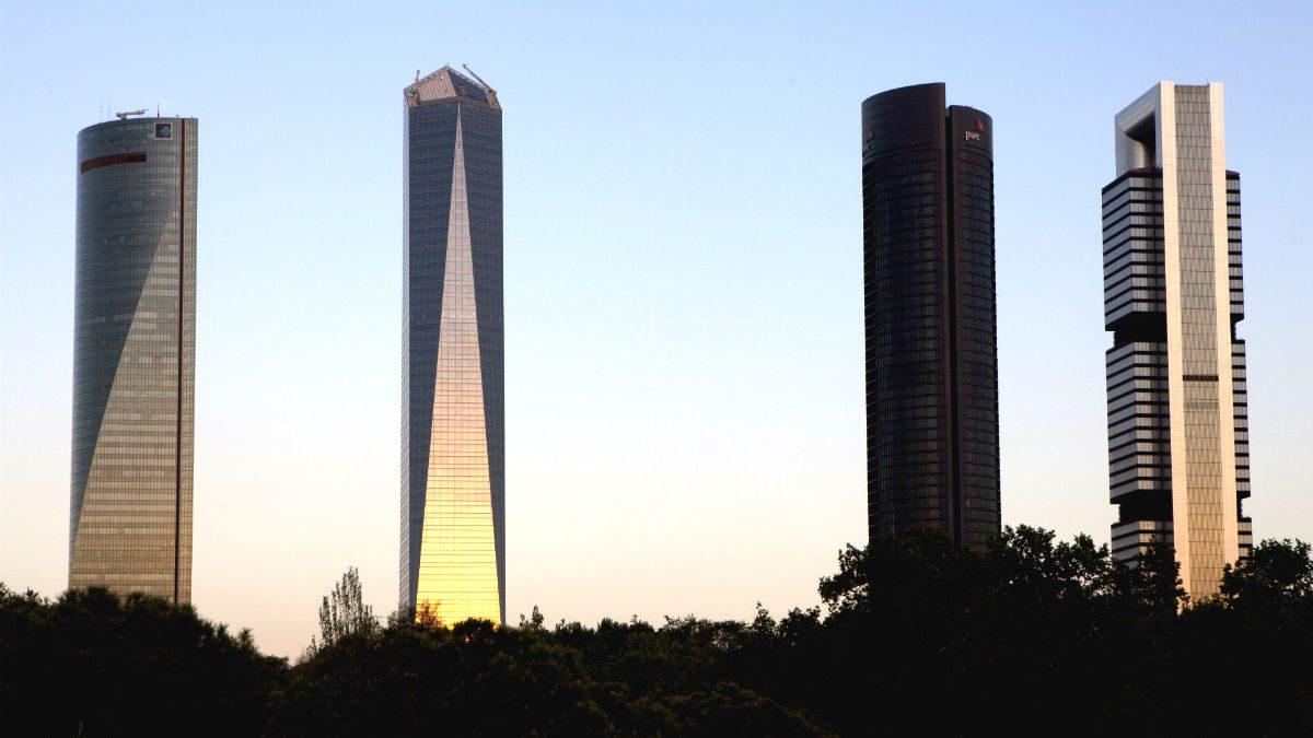 Skyline de Madrid (Foto: GETTY).