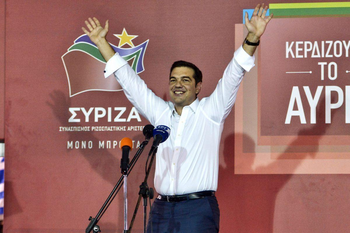 Los griegos vuelven a confiar en Tsipras
