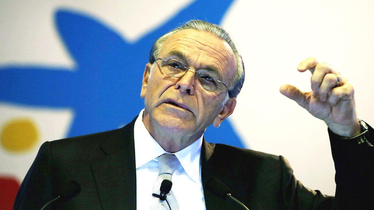 El expresidente de La Caixa, Isidre Fainé.