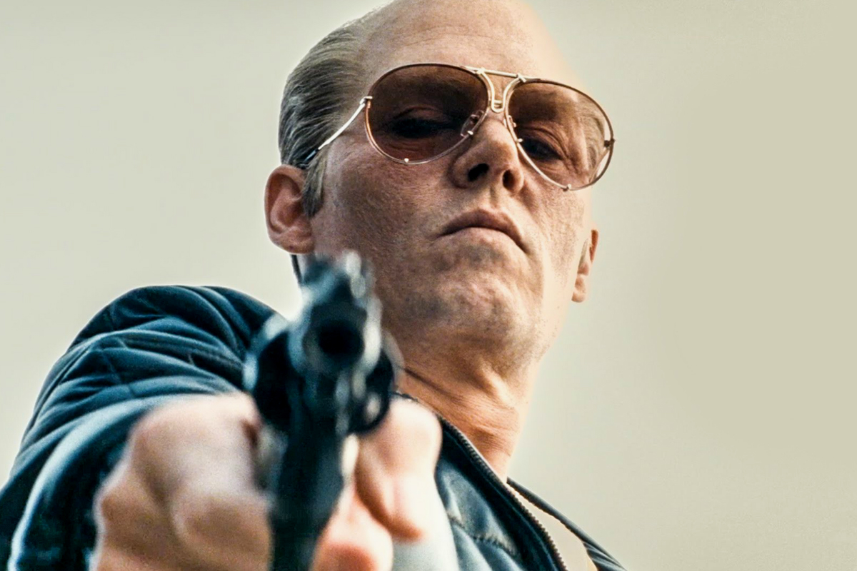 Johnny Depp en su último film 'Black Mass' (Warner Bross)