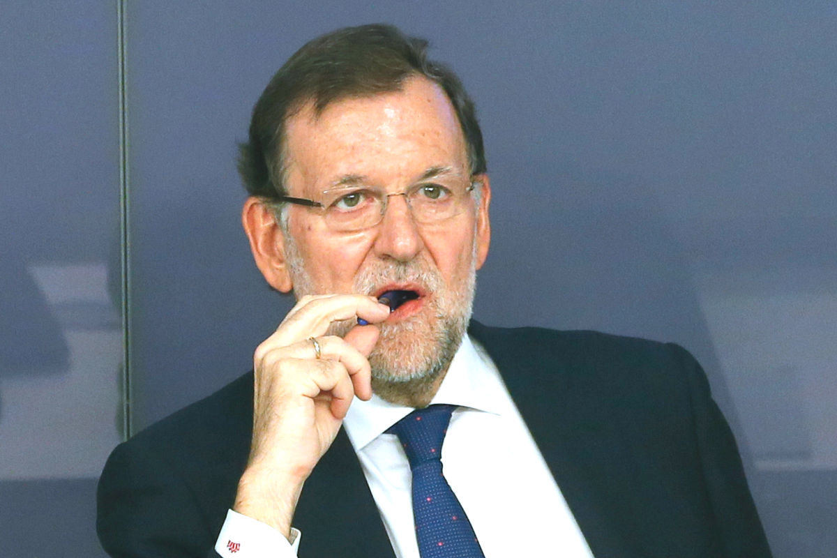 Mariano Rajoy en la Junta directiva de su partido. (foto: EFE)