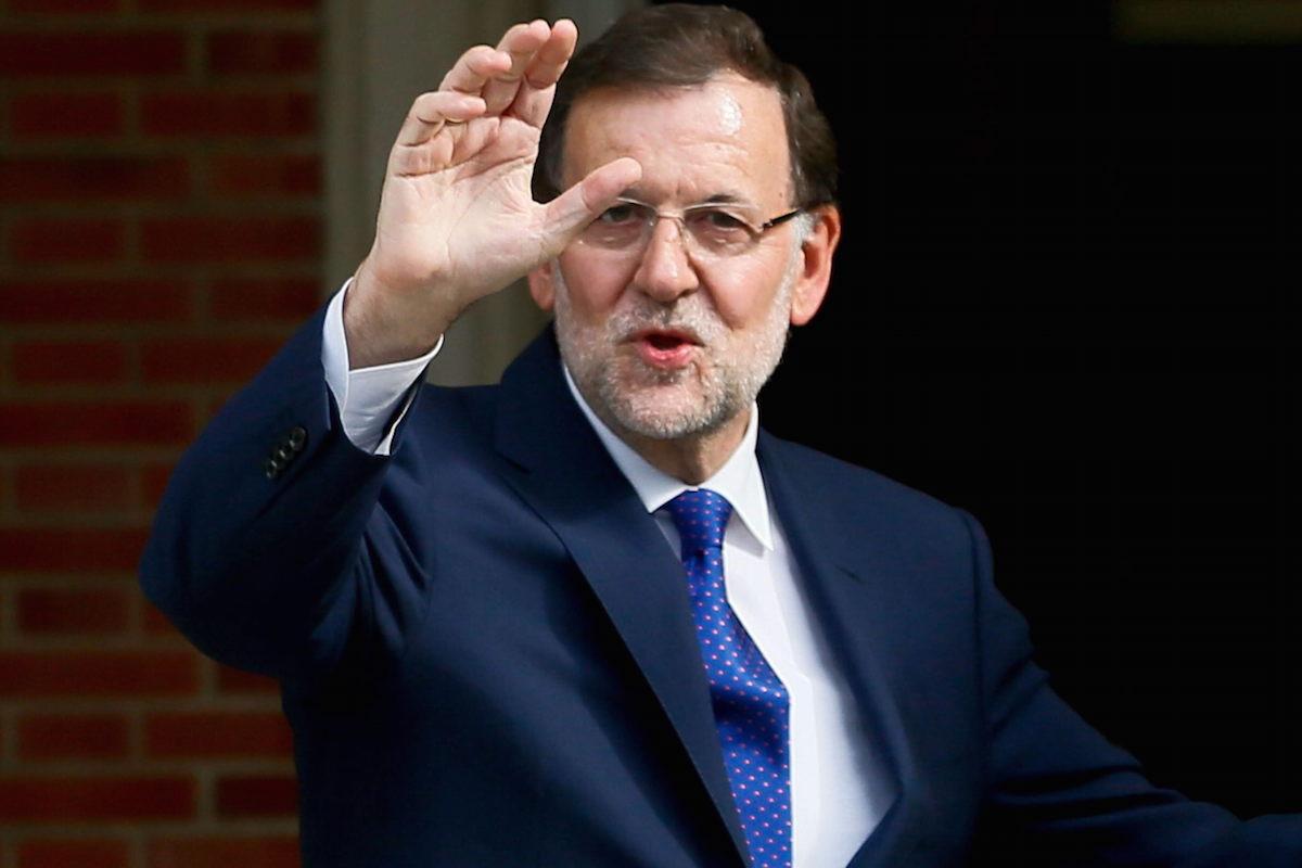 El presidente de Gobierno, Mariano Rajoy.