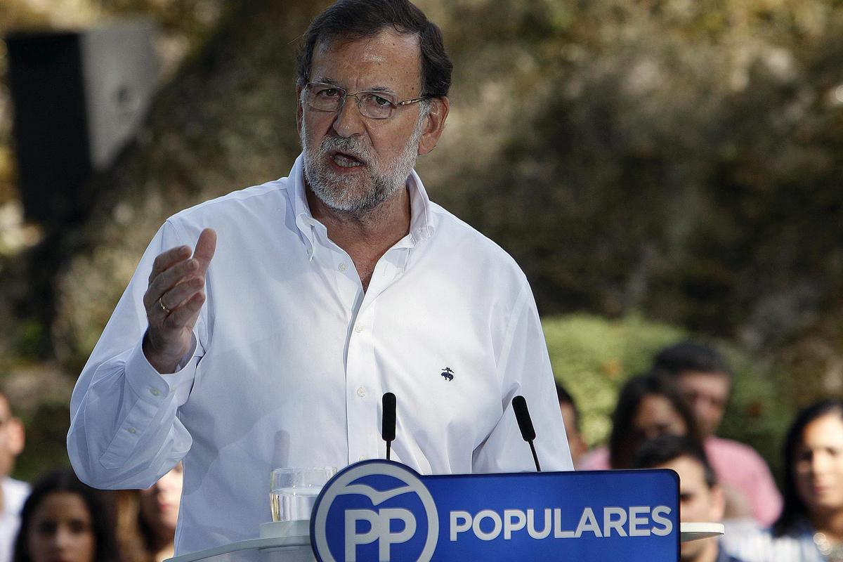 Mariano Rajoy saca pecho por la mejoría de la economía española (Foto: EFE)