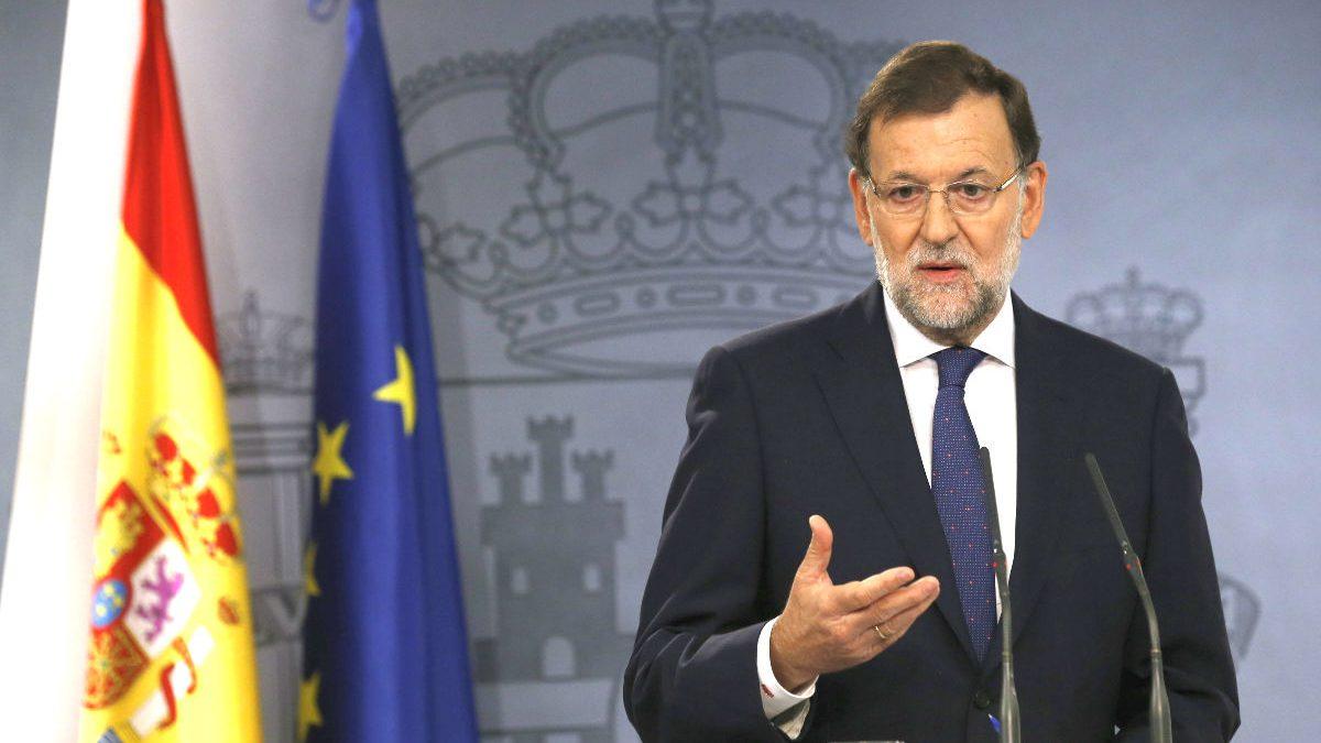 Mariano Rajoy en La Moncloa. (Foto: EFE)