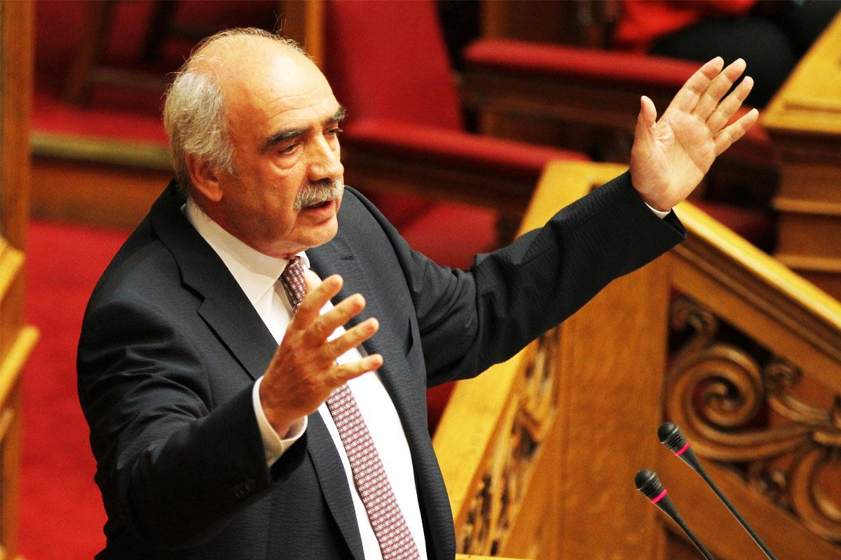 Vangelis Meimarakis es el líder de la pujante Nueva Democracia (Foto: Getty)
