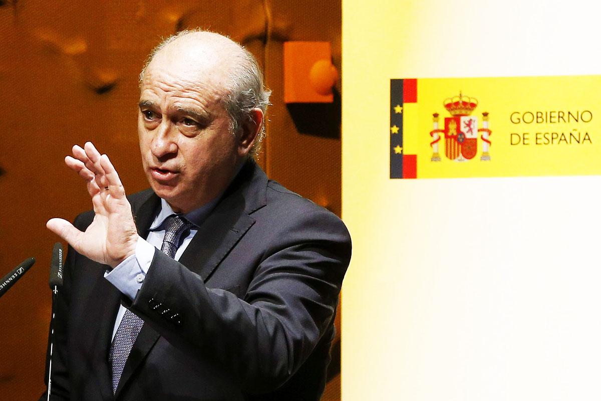 Jorge Fernández Díaz, ministro de Interior (Foto: EFE)