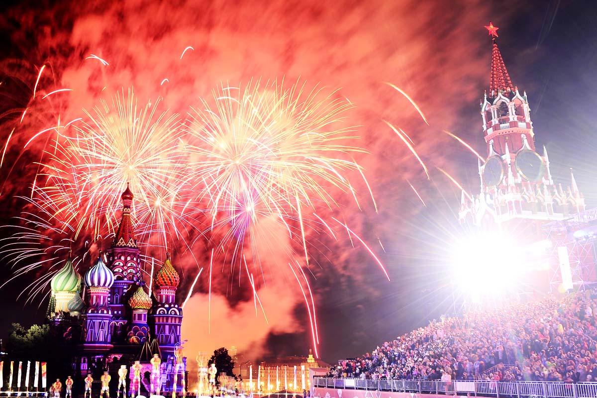 La Plaza Roja de Moscú ha acogido esta semana un festival de bandas militares (Foto: Getty)