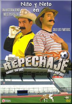 Los personajes Nito y Neto interpretados por Jimmy Morales y su hermano Sammy