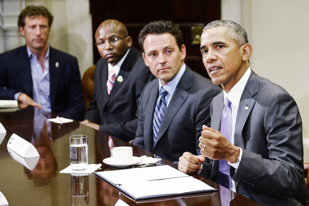 Barack Obama discute hoy el acuerdo con Irán con veteranos de guerra norteamericanos (Foto: Getty)