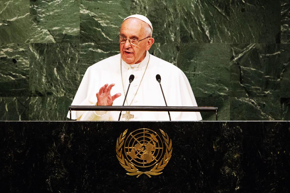 El Papa Francisco ha realizado una llamada a la acción en la ONU (Foto: Getty)