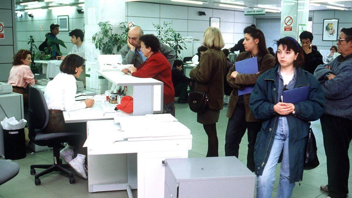 Una oficina del INEM en una imagen de archivo (Foto: EFE)