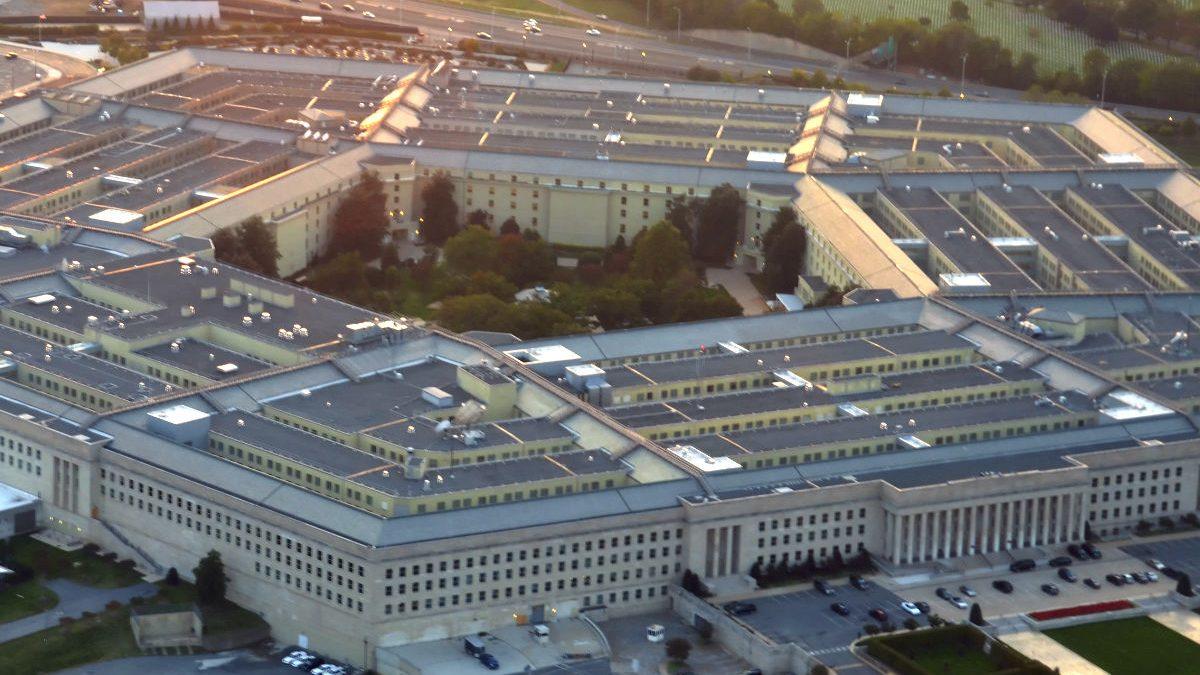Imagen aérea del Pentágono (Getty)