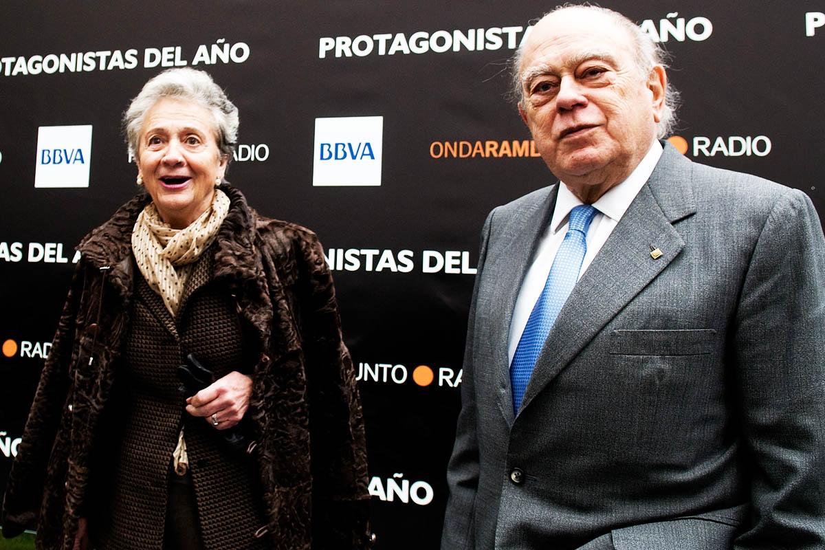 Los jefes del clan: Marta Ferrusola y Jordi Pujol Soley, en 2010 (Foto: Getty)
