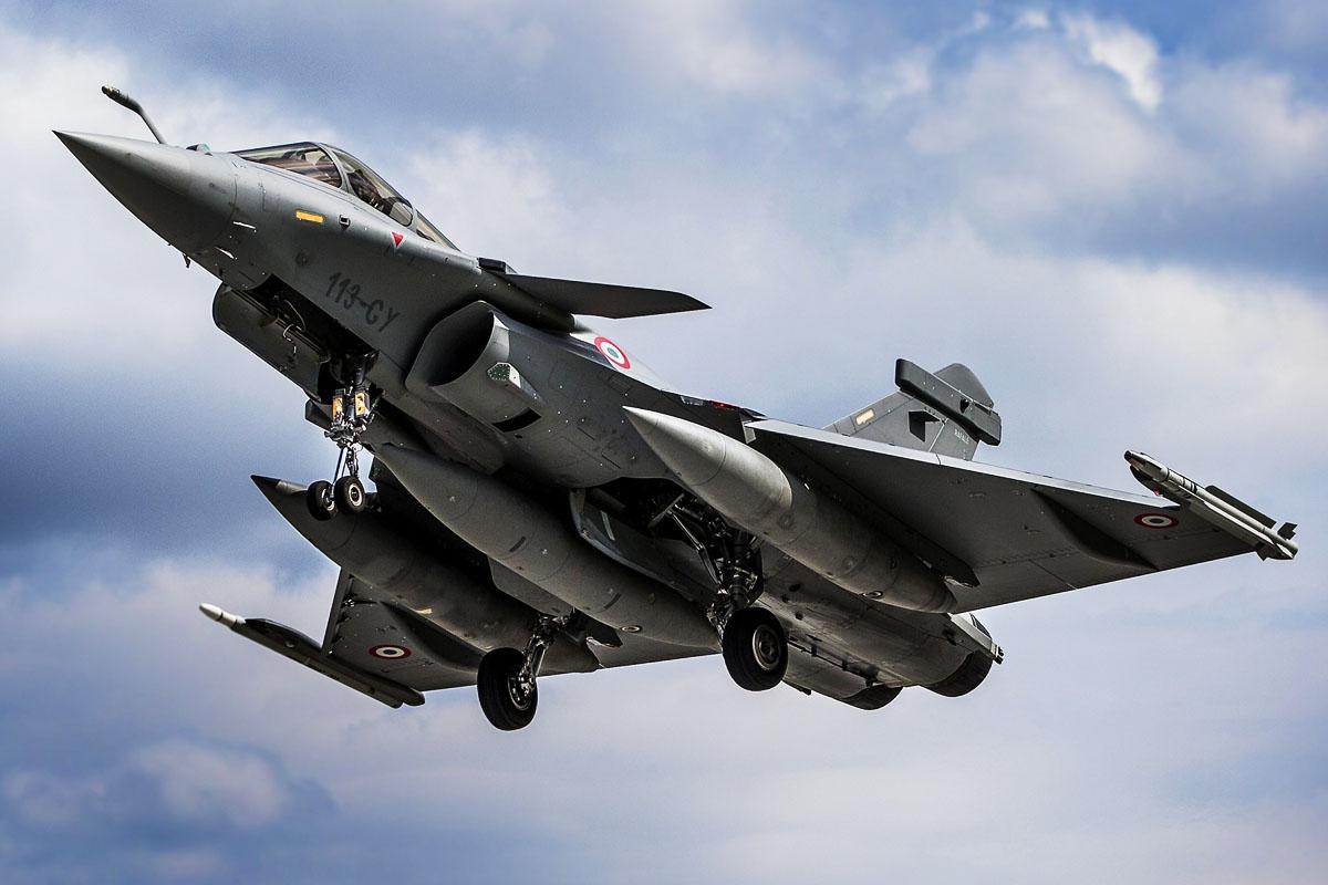 Avión Rafale del ejército francés. (Foto: Getty)