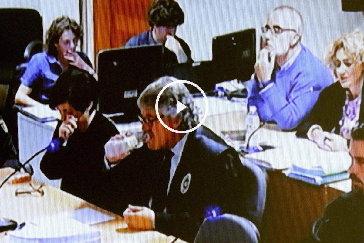 Rosario Porto en el juicio por el asesinato de su hija