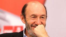 Alfredo Pérez Rubalcaba en un acto. (Foto: PSOE)
