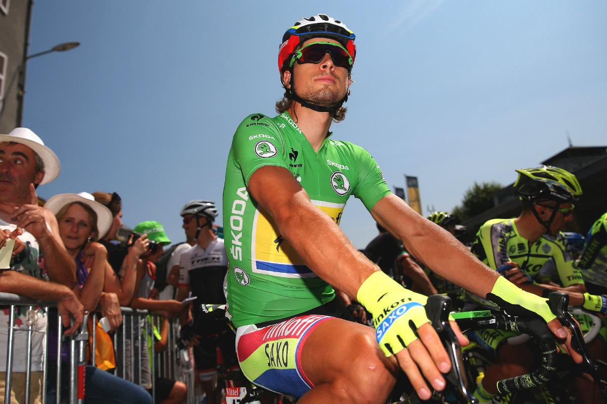 Peter Sagan no ganó ninguna etapa en el Tour, pero fue el más regular