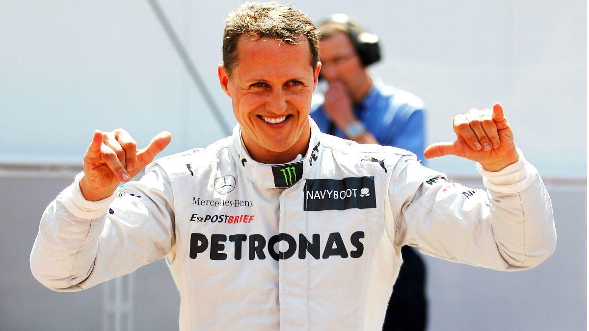 Schumacher durante el GP de Mónaco en su regreso a la Fórmula 1. (Getty)