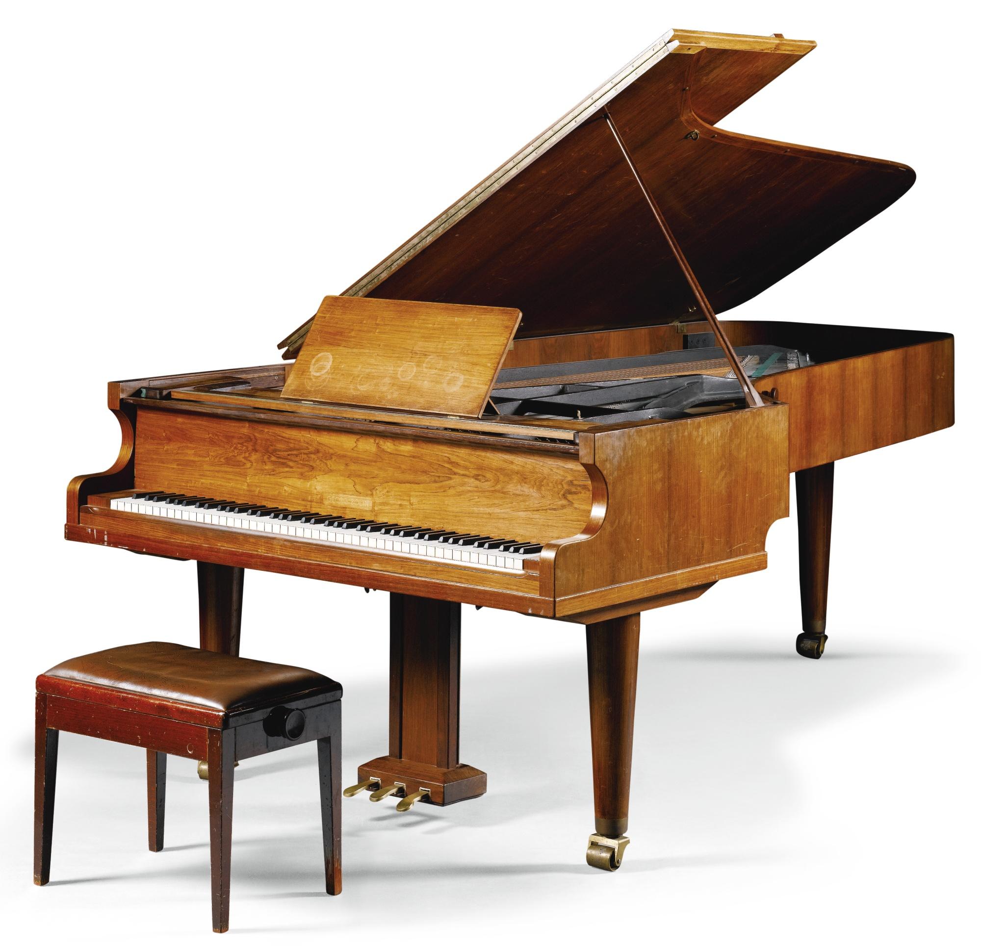 El 'Abba Grand', usado por la banda en sus principales grabaciones. (Foto: Sotheby's)