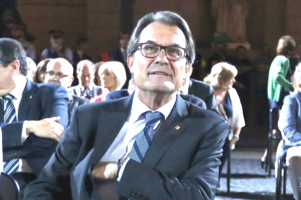 El ex presidente en funciones de la Generalitat, Artur Mas.