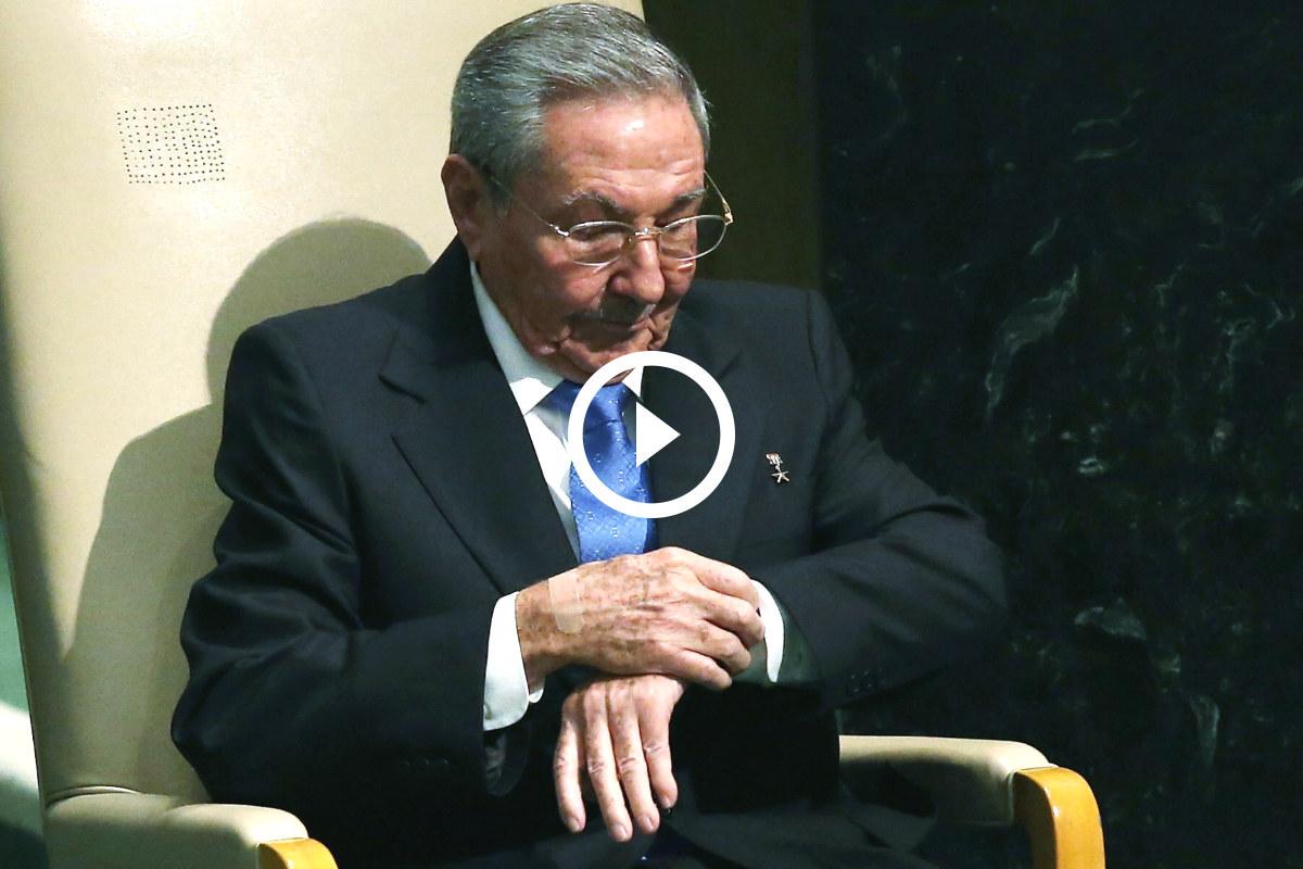 Raúl Castro en Naciones Unidas. (Foto: Getty)