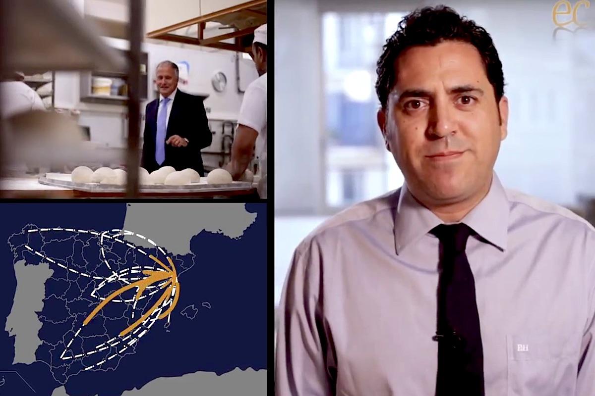 Captura del vídeo de Empresaris de Catalunya.