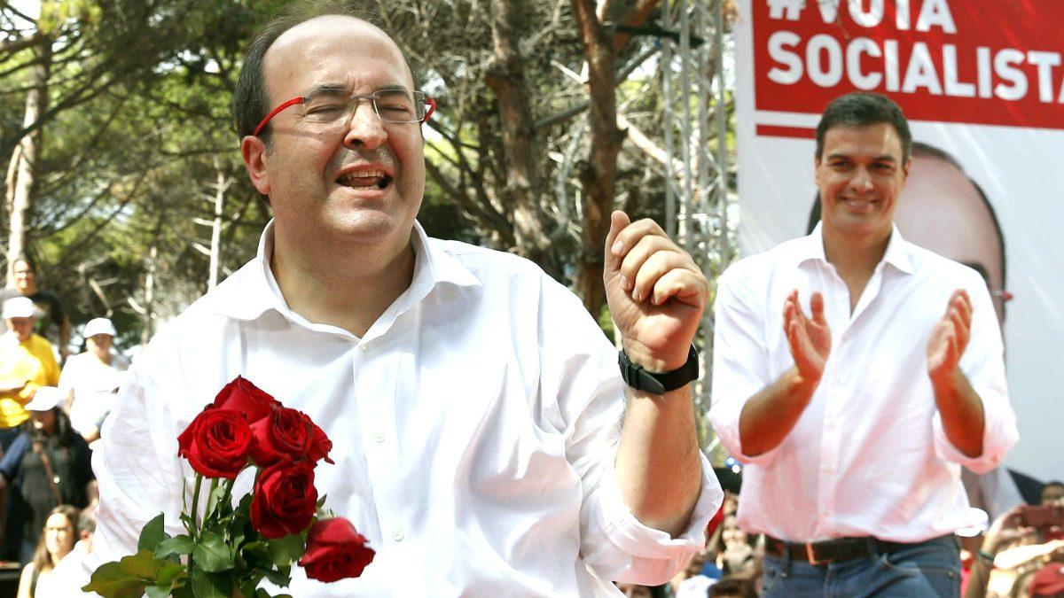 Miquel Iceta, candidato del PSC a la Generalitat. (Foto: Efe)