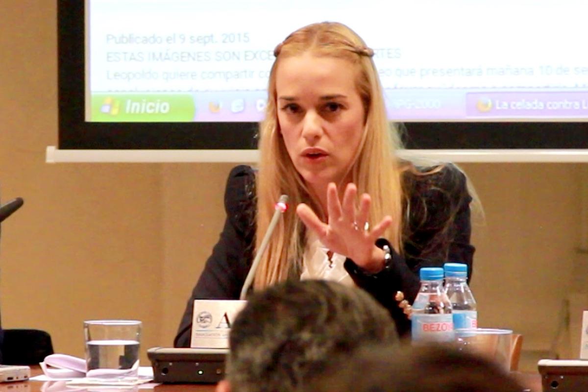 Lilian Tintori (Foto: Enrique Falcón).