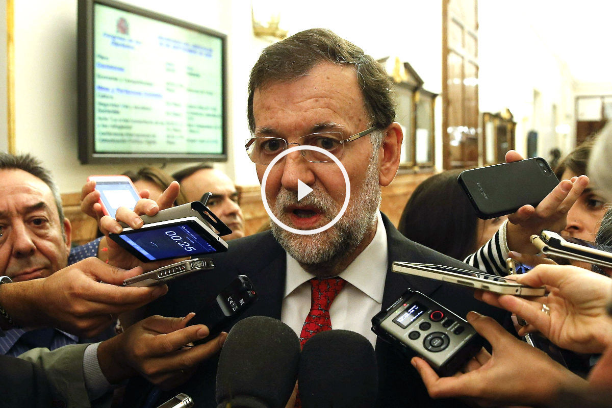 Mariano Rajoy en el Congreso (Foto: Efe)