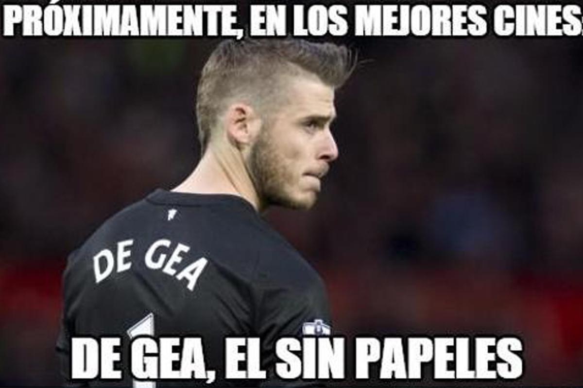 Algunos de los mejores memes sobre el no fichaje de De Gea por el Real Madrid