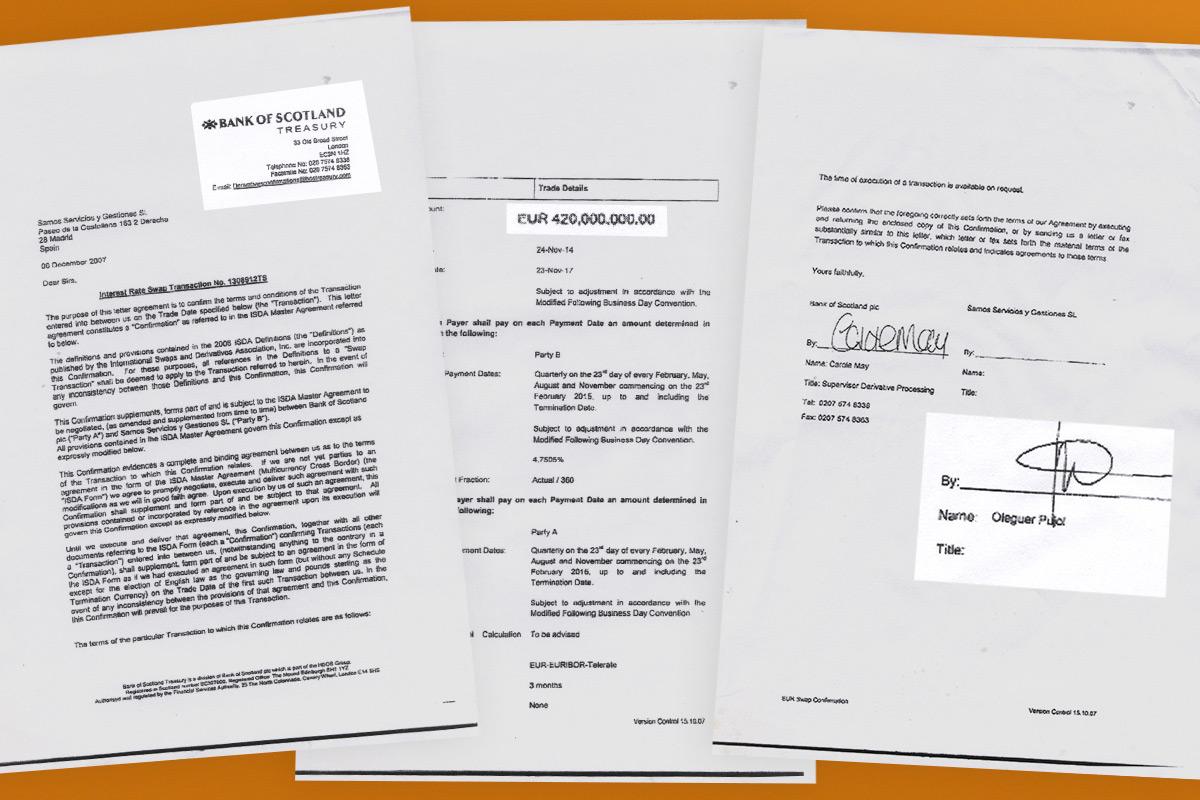Estos son los documentos a los que ha tenido acceso OKDIARIO que prueban la operación de blanqueo de dinero