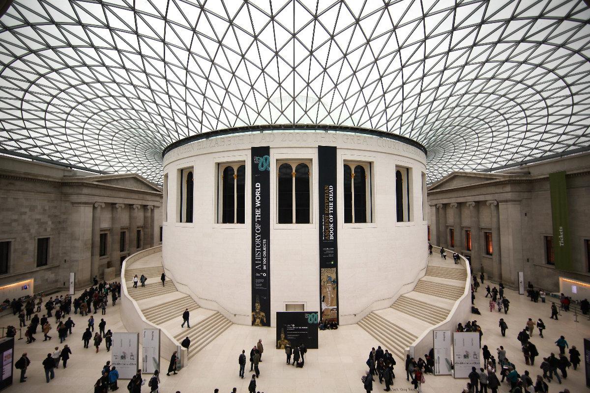 Espacio principal del Museo Británico. (Foto: Getty)