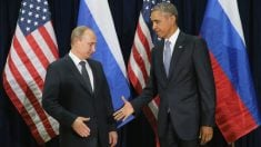 Vladimir Putin y Barack Obama. (Foto: Getty)