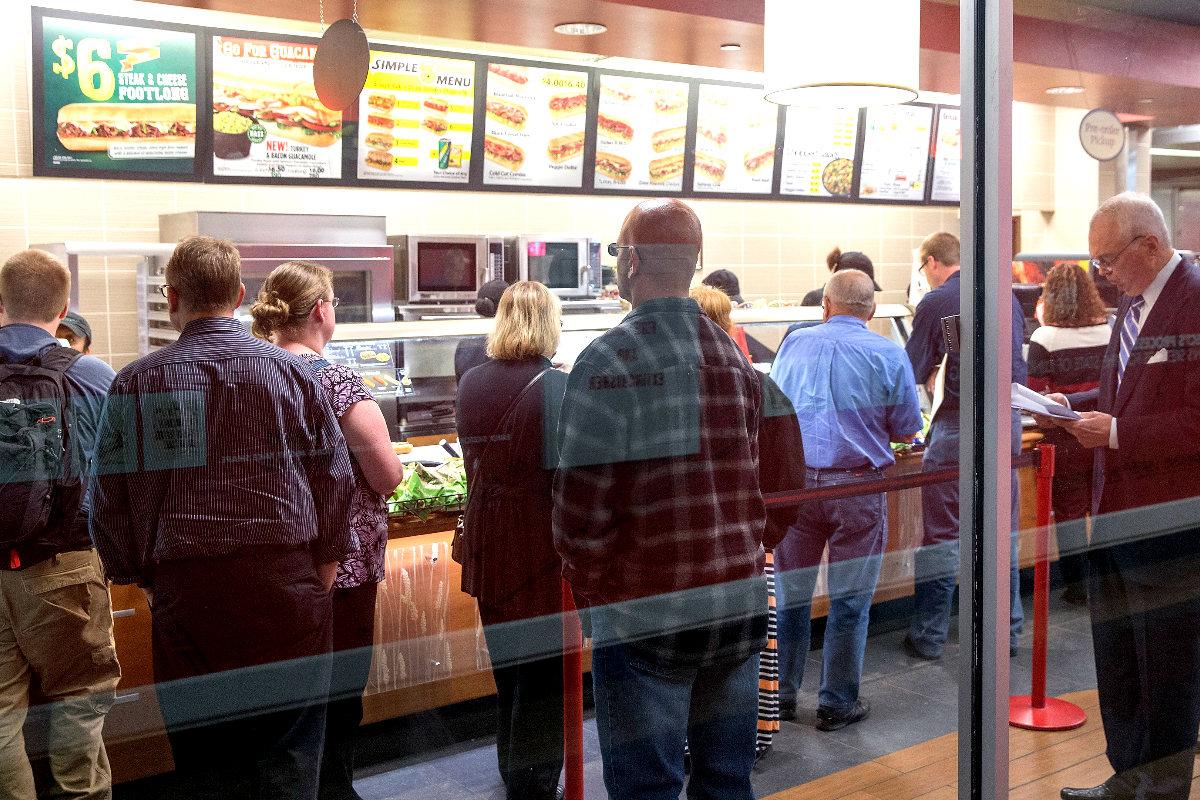Establecimiento de comida rápida. (Foto: Getty)