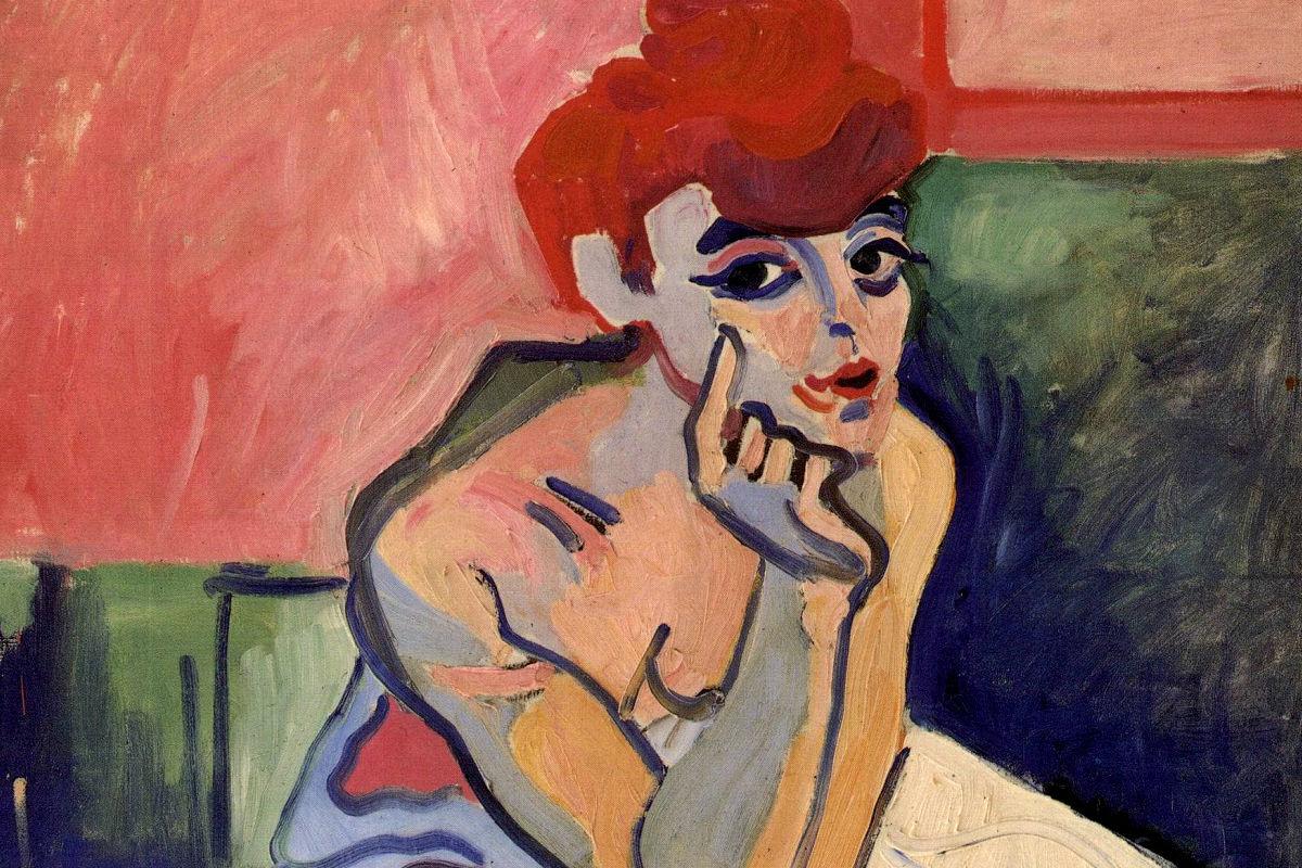 La mujer en camisón o Bailarina, de André Derain.
