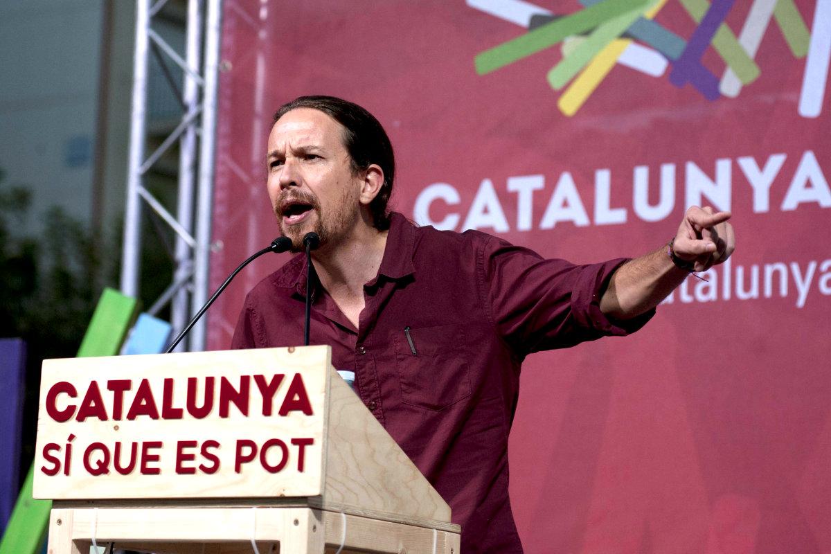 El líder de Podemos, Pablo Iglesias. (Foto: Efe)