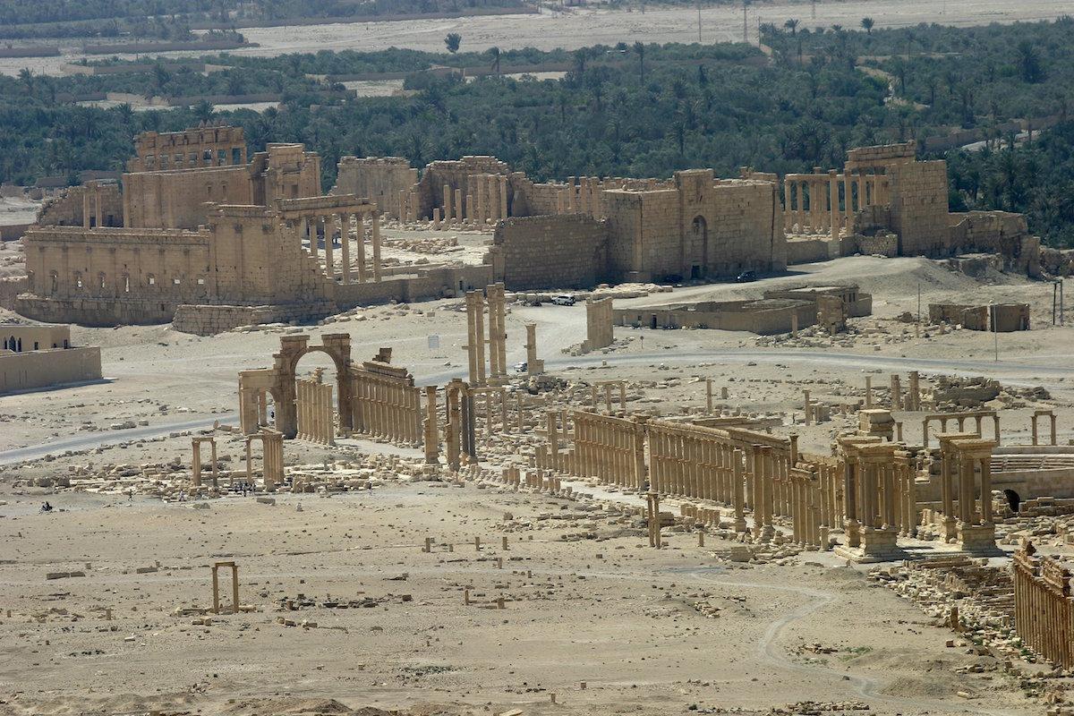 Templo de Bel en la ciudad de Palmira, Siria (REUTERS/Gustau Nacarino)